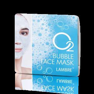 BUBBLE FACE MASK Пузырьковая маска с сильным кислородным действием, 2x8ml