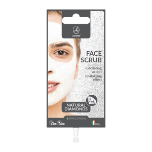 LAMBRE FACE CARE FACE SCRUB DIAMONDS Скраб для лица с алмазами, 15 ml
