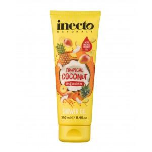 Inecto TROPICAL COCONUT INFUSION SHOWER GEL Гель для душа Тропический кокос